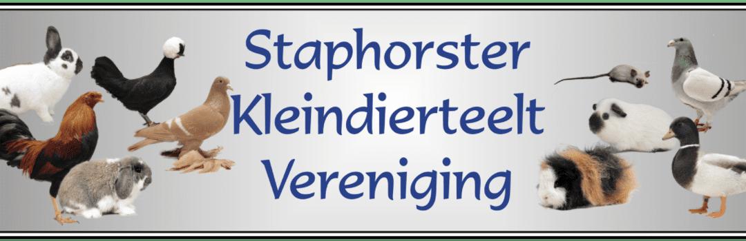 Staphorster Kleindierteelt Vereniging (SKV) nieuw lid van Dierenparade Noordshow